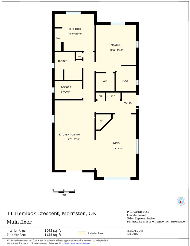 Floor Plans for 11 Hemlock Cr, Mini Lakes